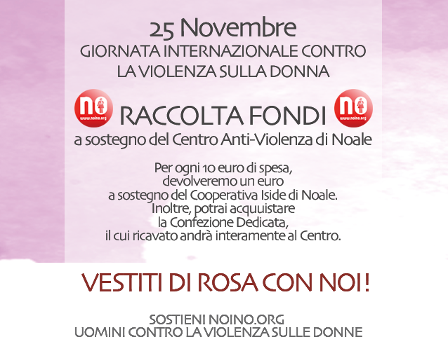 Contro Sulla La Violenza DonnaRaccolta Fondi WeIYEDbH29